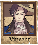Vincent Musketeer Poster
