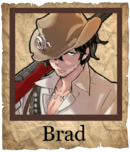 Brad Musketeer Poster