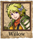 Willow Cannoneer Poster