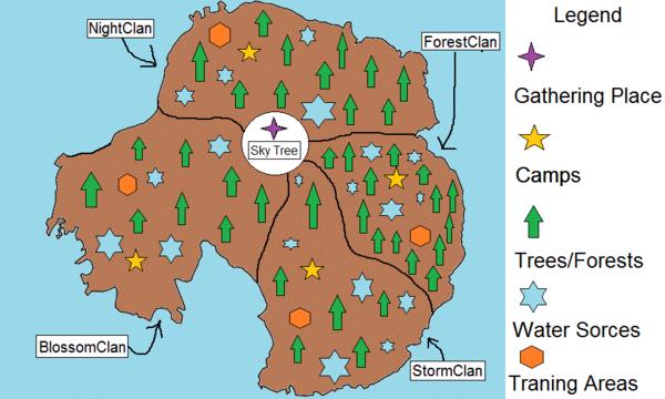 Island Clan Territory