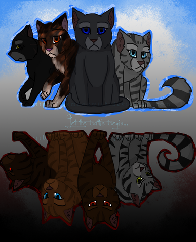 File:Starclan vs the dark forest by xxmoonwish-d2zin40.png