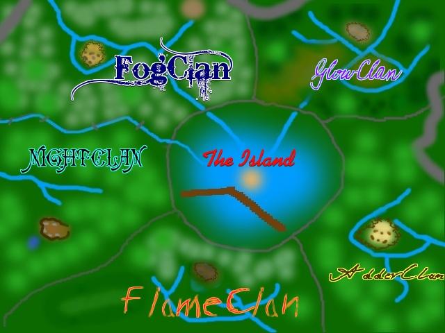 Clan Lake Map