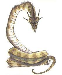 Horned Snake Serpent Cerastes Forestlinnorm