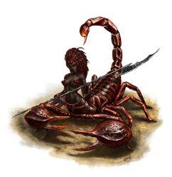 Girtablilu Aqrabuamelu Scorpion-Woman-Lady-Girl-Maiden-Female