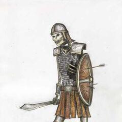 Skeleton warrior?