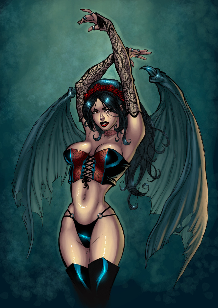 Succubus 2 Color by residentlilly
