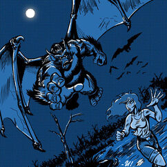 Batsquatch or Vamporilla