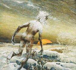 The desert ice men