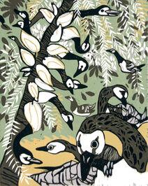 Barnacle Goose (Goose Tree)