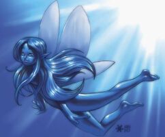 Water fairy by chilin