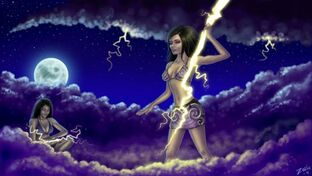 We bring the Lightning by Zeila signed