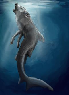 Merwolf 1 by OrigamiEmu