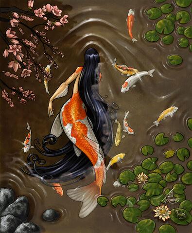 File:Koi Mermaid by Bamfette-1-.jpg