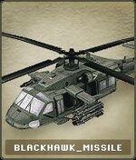 Vehicles BlackHawk Missile