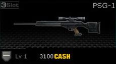 Weapon PSG-1