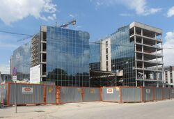 Banacha (budynek nr 2c, budowa).JPG