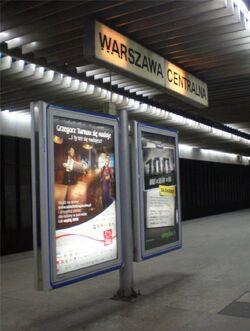 Dworzec Centralny (tablica z nazwą).JPG