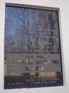Zespół Szkół Fototechnicznych (Spokojna, nr 13, tablica)