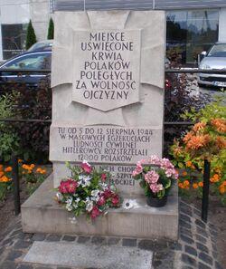 Gorczewska, al. Prymasa (tablica)