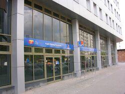 Punkt Obsługi Pasażerów w nowej siedzibie ZTM na Żelaznej 61.JPG