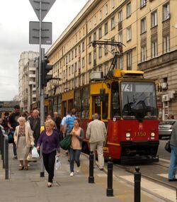 Nowowiejska (tramwaj 74) 2013