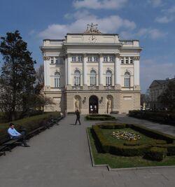 Uniwersytet Warszawski (dawny BUW).JPG