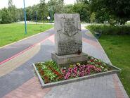 Park Szymańskiego (kamień, Wolska)