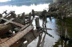 Zawalone przeslo mostu poniatowskiego 2.jpg