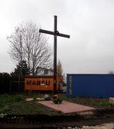 Panny Wodnej, Zasadowa (krzyż przydrożny)