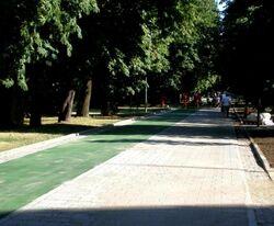 Park Agrykola (zielona sciezka rowerowa) 2.JPG