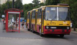 Metro Wilanowska (autobus 709).JPG