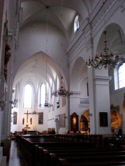 Kościół św. Jacka (Freta, wnętrze)
