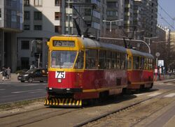 Aleja Jana Pawła II (tramwaj 75)