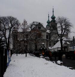 Kościół na Bielanach 1