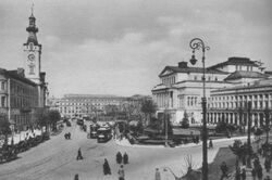 Plac Teatralny 1925
