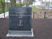 Cmentarz Powstancow w Powsinie 3