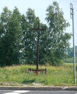 Przyczółkowa, Pałacowa (krzyż przydrożny)