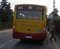 Wodniakow (przystanek, autobus 119)
