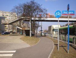 Marymoncka (ścieżka rowerowa).JPG