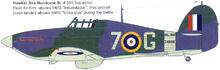 4 Hurricane I 880NAS HMS Indomitable
