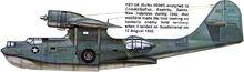 12 PBY5a Sea camo 1940 markings 42
