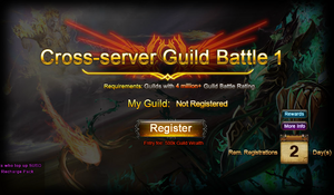 Cross-server Guild Battle Registration