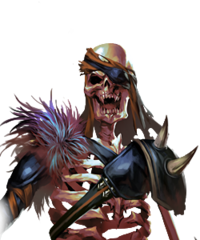 Skeleton Mage (Gods Descent)