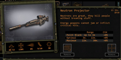 NeutronProjector Detail