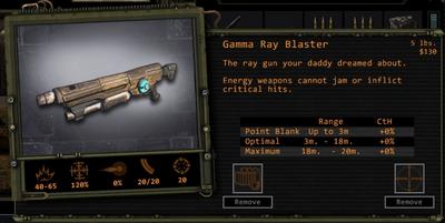 GammaRayBlaster Detail