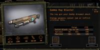 Gamma Ray Blaster