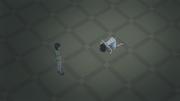 Tomoko bows to Kasaka