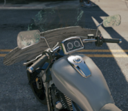 Chopper cruiser dashboard