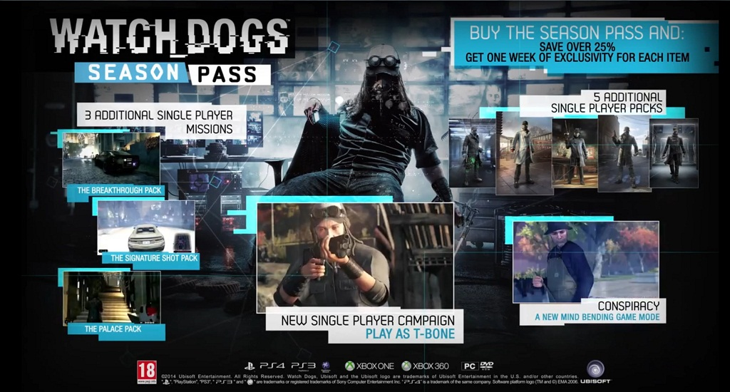 Watch Dogs Exclusive Contracts