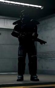 Dressed in peels enforcer